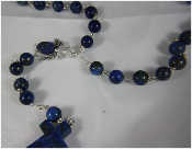 Lapis - Angel of Inner Strength Rosary