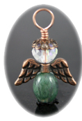 Moss Agate - Angel of Communication with Nature