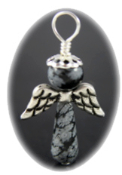 Snowflake Obsidian - Angel of Purity
