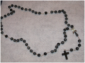 Snowflake Obsidian - Angel of Purity Rosary