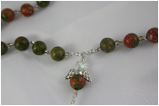 Unakite - Angel of Stability Rosary