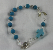 Turquoise - Angel of Expression Prayer Bracelet
