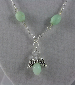 Chrysoprase - Angel of Insight Necklace