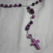 Sugilite Angel of Protection Rosary