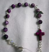 Sugilite - Angel of Protection Prayer Bracelet
