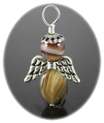 Botswana Agate - Angel of Strength to Carry On