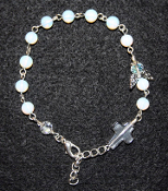 Moonstone - Angel of Long Life and Happiness Prayer Bracelet