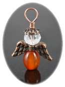 Carnelian - Angel of Fulfillment