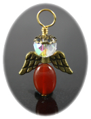 Red Agate - Angel of Calm and Peace