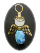 Moonstone/Larimar - Angel of Motherly Love