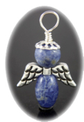 Sodalite - Angel of Courage and Endurance