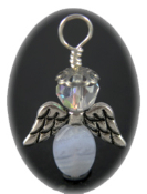Blue Lace Agate - Angel of Calm and Positive Thinking