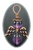 Purple Fluorite - Angel of Change
