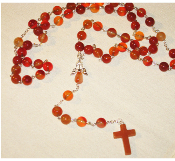 Multi-Bead Agate - Angel of Emotional Comfort Rosary