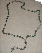 Tree Agate Angel of Balance Rosary