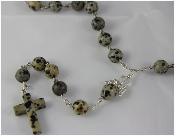 Dalmation Jasper - Angel of High Spirits Rosary