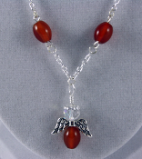 Carnelian - Angel of Fulfillment Necklace