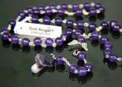 Amethyst - Angel of Cleansing Rosary